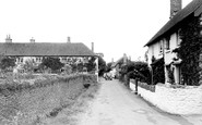 Bossington, The Village And Bossington Farm c.1950