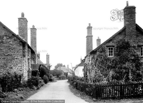 Bossington, The Village c.1950
