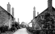 Bossington, The Village c.1950