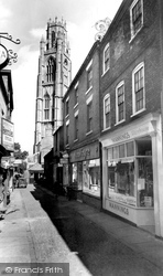 Boston, Church Street c.1955