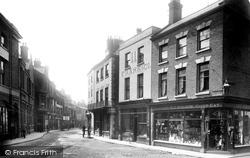 Boston, High Street 1899