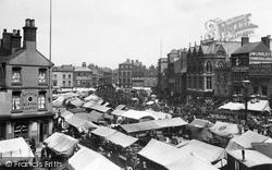 Boston, Market Place 1899