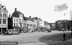 Boston, Market Place c.1950