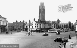 Boston, Market Place c.1955