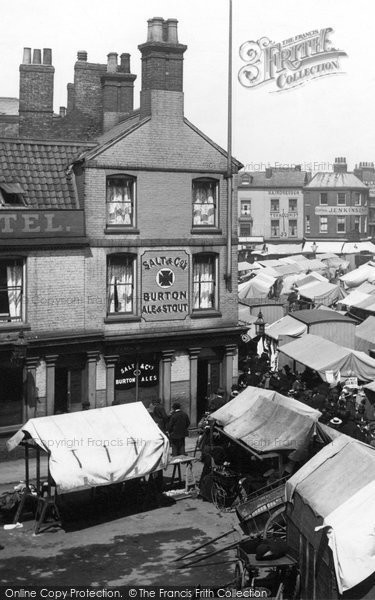 Boston, Market Stalls 1899
