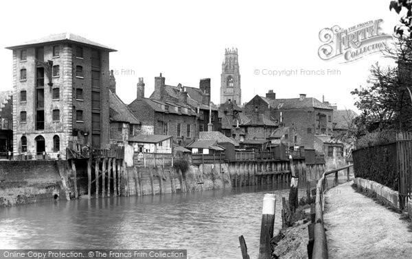 Boston, On The River Witham 1899