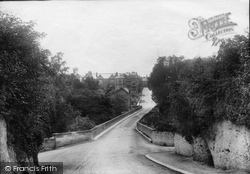 Boston Spa, From Thorpe Arch Road 1906