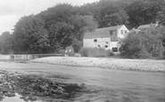 Boston Spa, Old Mill And Weir 1921