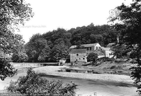 Boston Spa, Old Mill On The Wharfe 1893