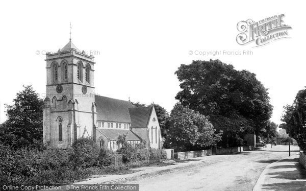 Boston Spa, Parish Church Of St Mary The Virgin 1893