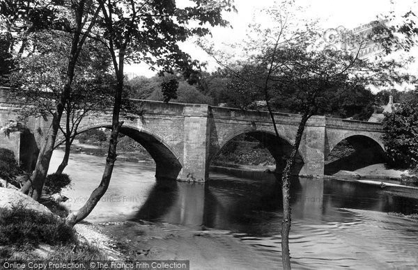 Boston Spa, The Bridge 1908