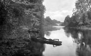 Boston Spa, The River Wharfe 1921