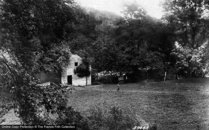 Boston Spa, View Above Weir 1897