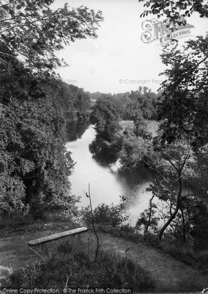 Boston Spa, View From Jackdaw Crag 1921