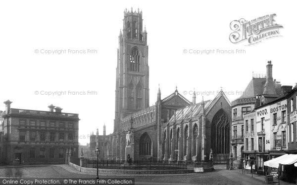 Boston, St Botolph's Church 1889