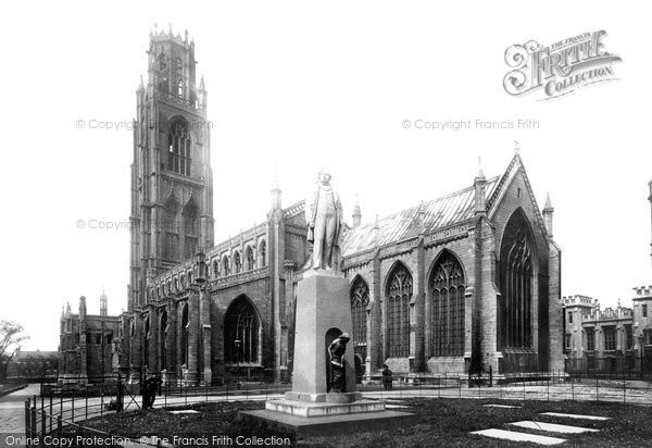 Boston, St Botolph's Church 1899