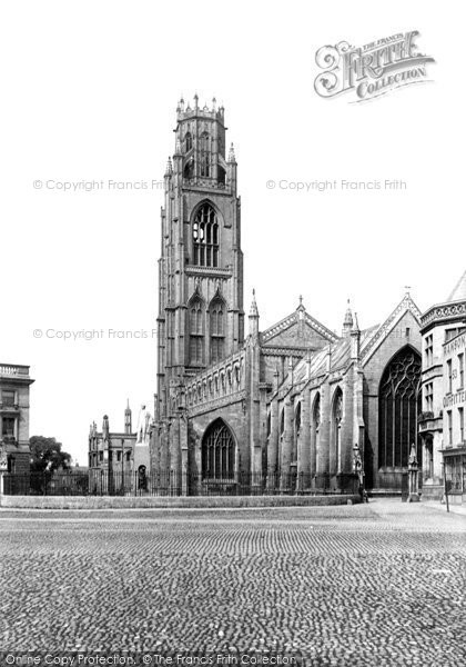 Boston, St Botolph's East End 1890
