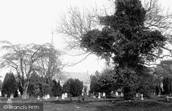 Boston, The Cemetery 1899