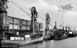 Boston, The Docks c.1955