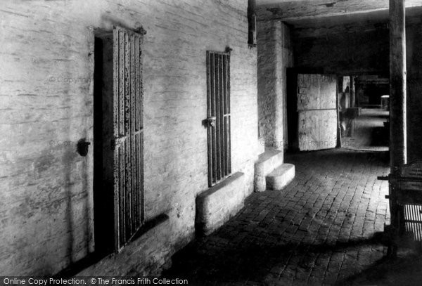 Boston, The Guildhall Cells 1899