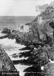 Botallack, Crowns Engine House c.1955