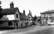 Botesdale, Memorial Corner c.1960