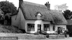 Thatched Cottage c.1960, Botesdale