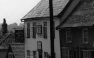 Botesdale, The Angel Inn c.1955