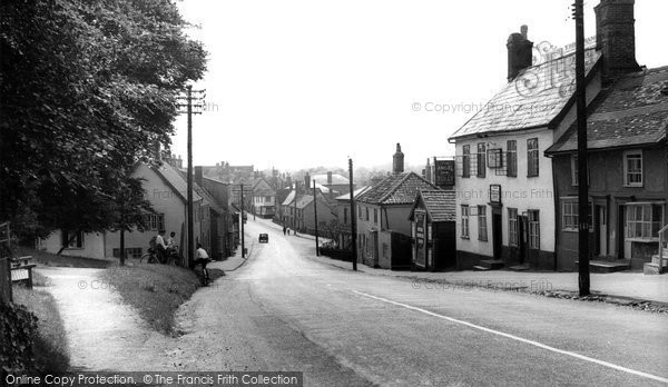 Botesdale, The Village c.1955