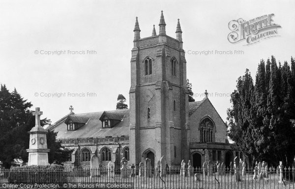 Botley, All Saints' Church c.1955