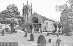 Botley, All Saints Church c.1960