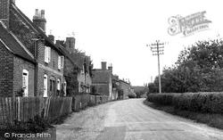 Botley, Church Lane c.1955