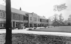 Botley, Four Elms Parade c.1950
