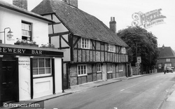 Botley, Old House c.1960