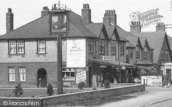 Botley, Post Office c.1950