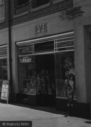 Botley, Shop On Elms Parade c.1950