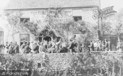 Botley, The George Inn 1892