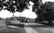 Botley, The Junior School, Southampton Road c.1955