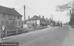 Botley, The Main Road c.1950