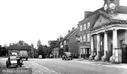 Botley, The Market Hall c.1955