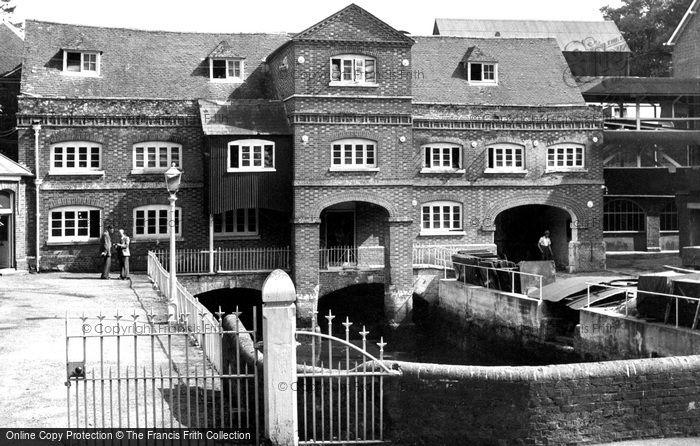 Botley,the Mills c1950,Hampshire