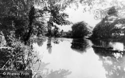 Botley, The River c.1960