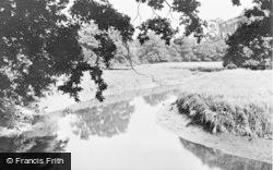 Botley, The River Hamble c.1955