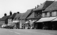 Botley, The Square, Local Businesses c.1960