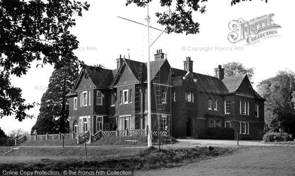 Botley, The Ymca International Youth Camp c.1955