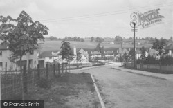 Botley, Third Acre Rise c.1950