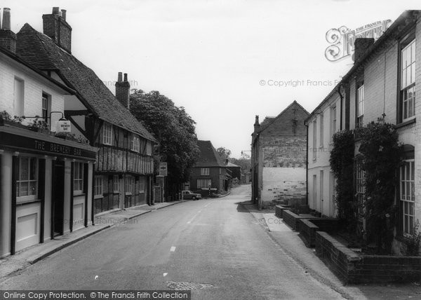 Botley, Winchester Street c.1960
