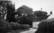 Bottesford, A Country Lane c.1955