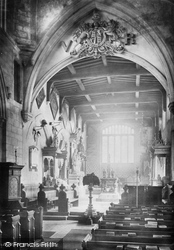 Church, Nave East 1890, Bottesford