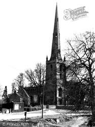 Church Of St Mary The Virgin c.1955, Bottesford